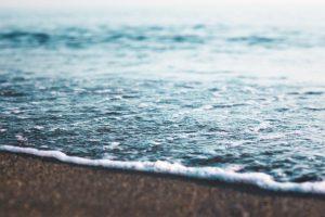 ים וקצף מקרוב